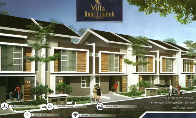 Villa Bukit Indah - Batam Center